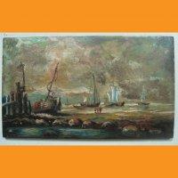 Морские истории Две картины