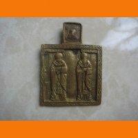 Избранные святые нательная икона литье
