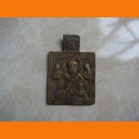 Николай Чудотворец иконка нательная