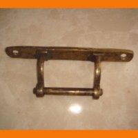 Ручка бронзовая для мебели или окна