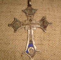 Крест нательный серебро 84 пробы.