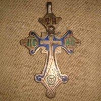 Крест нательный серебро 84 пр.