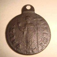 Медальен с мальтийским крестом .