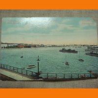 Xelsinki.Pohjois satama. цветная открытка.