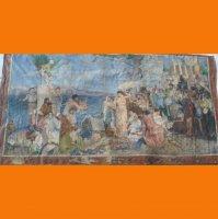 Фрина на празднике Посейдона в Элевсине копия с картины Г. Семирадского .