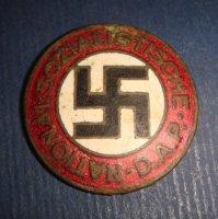 Партийный знак. Национал-социалистическая немецкая рабочая партия.