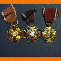 Польские кресты за заслуги 3 степени.