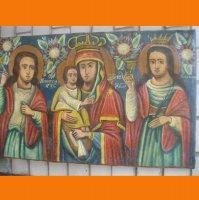 С . М . Никита , Божия Матерь и Варвара .