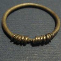 Височное кольцо, серебро .
