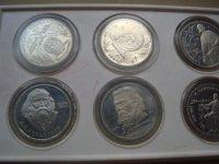 Комплект коллекционніх монет СССР в родном планшете