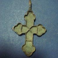 Крест мощевик фрагмнт створка
