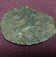 Средневековая медная монета