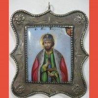 Икона Святого благоверного князя Бориса