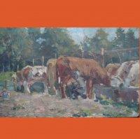 Ферма з коровами