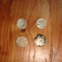 Крымские средневековые серебрянные монеты